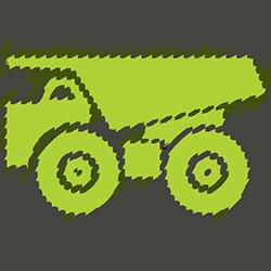 mining_dump_truck-512 med green