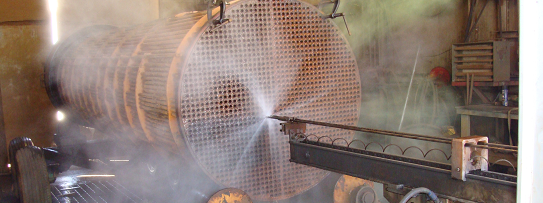 Maviro Heat Exchanger High Pressure Cleaning