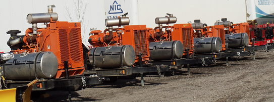 Maviro High Pressure Pump Fleet